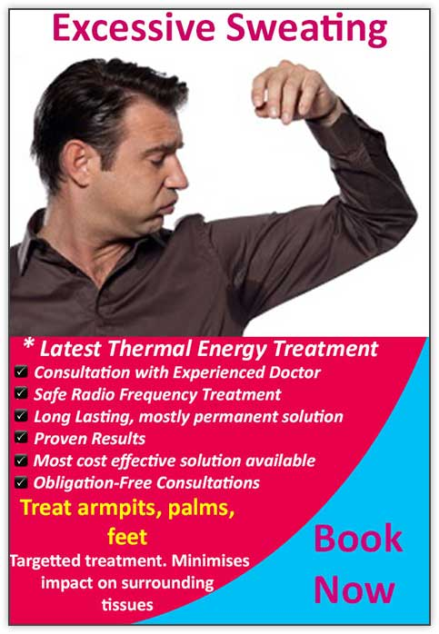 Excessive Sweating Treatment Melbourne - Nitai