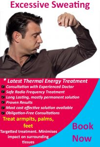 Excessive Sweating Treatment Melbourne 1