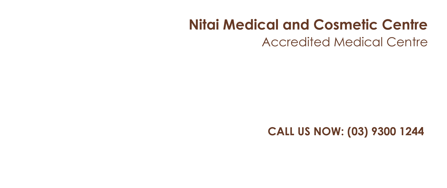 Award Winning Skin Clinic Melbourne - Nitai Cosmetic