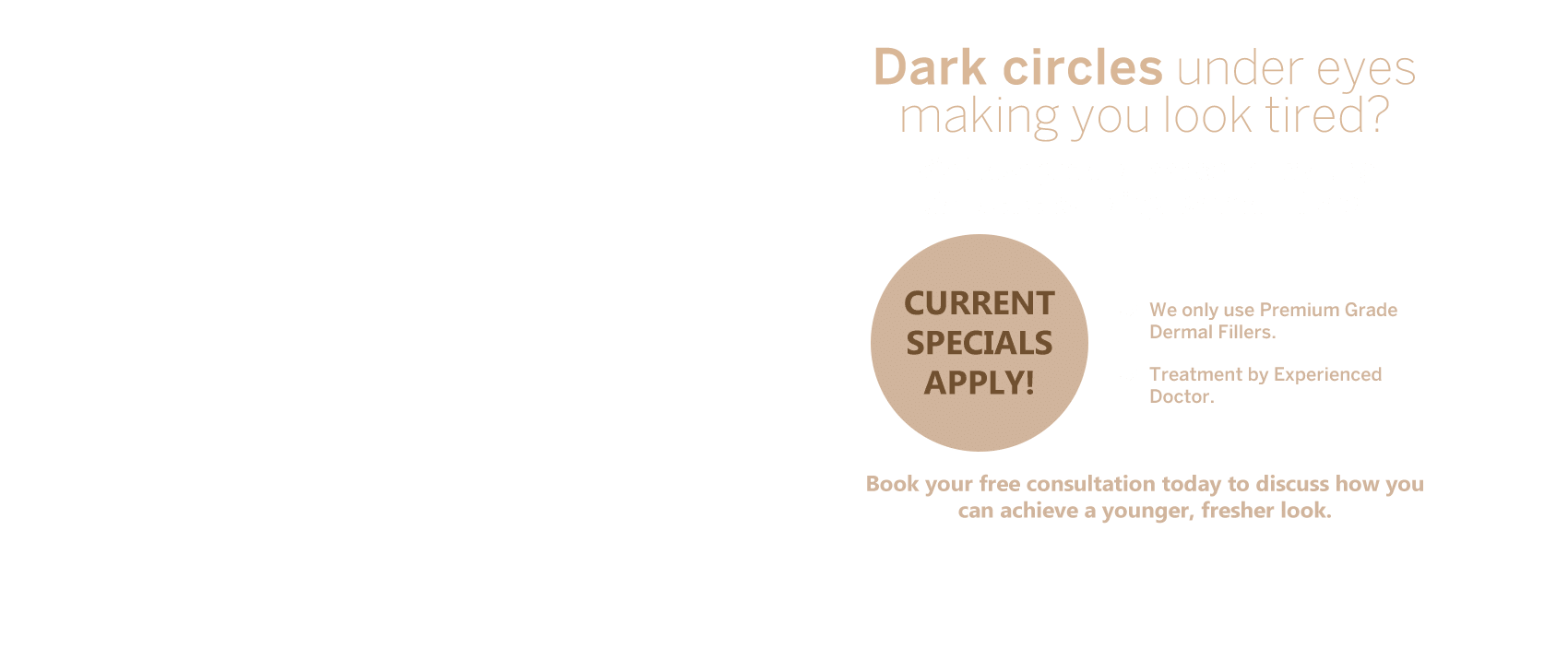 Dark Circle Treatment - Nitai Medical Cosmetic Centre