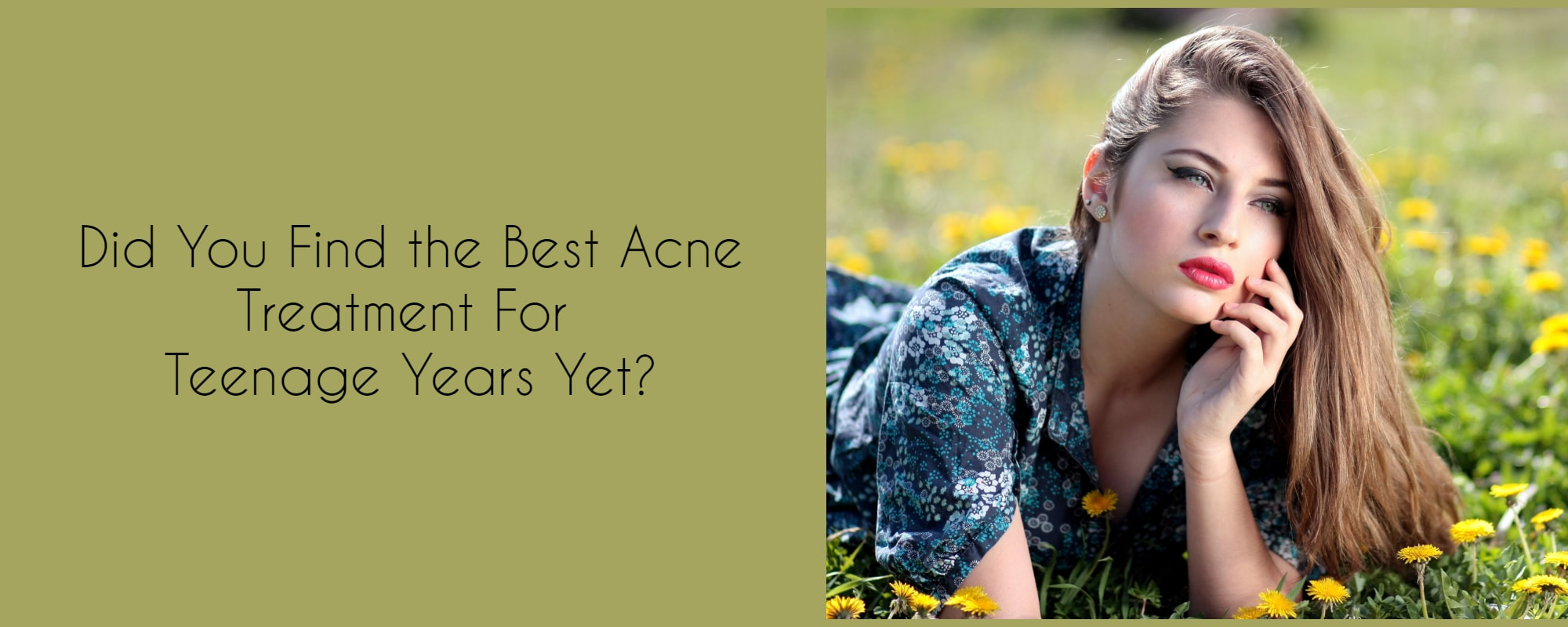 acne removal treatment for teenagers in Melbourne