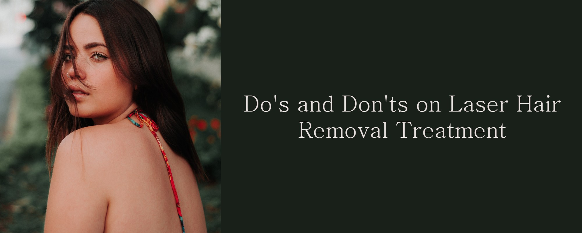 laser hair removal treatment in Melbourne