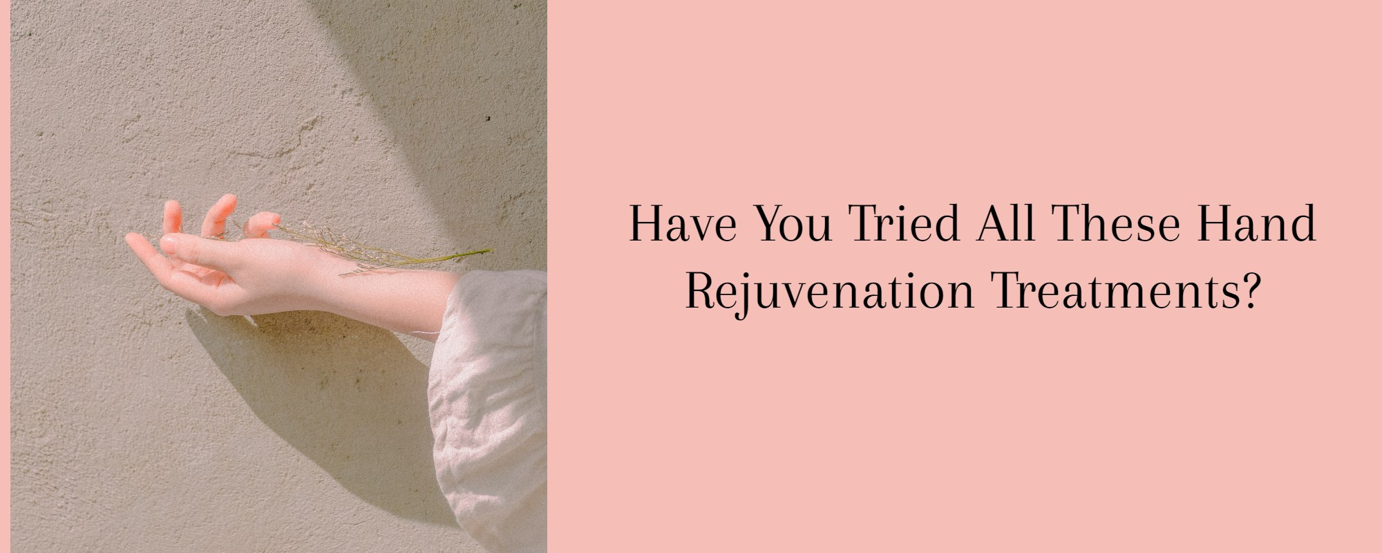 Hand Rejuvenation Treatment in Melbourne