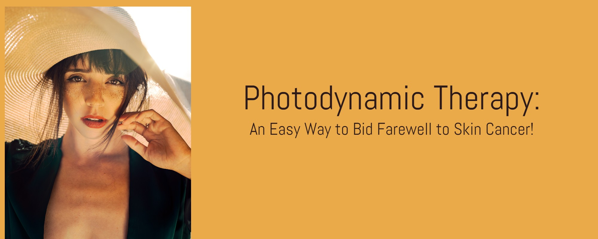 Photodynamic therapy for skin treatment